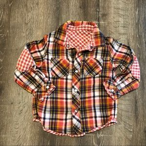Reversible flannel